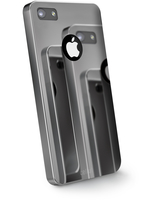 Cellularline Chrome - iPhone 4S/4 Cover con finitura effetto cromato extra-lucido Verde