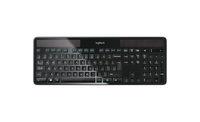 Logitech K750 RF Wireless AZERTY Francese Nero tastiera
