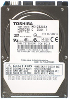 Toshiba 100GB Serial ATA 100GB SATA disco rigido interno
