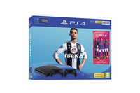 Sony Playstation 4 Slim 500GB + FIFA 19 + Dualshock 4 Nero Wi-Fi