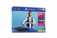 Sony Playstation 4 Slim 1TB + FIFA 19 Nero 1000 GB Wi-Fi