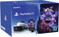 Sony PlayStation VR + Camera + VR Worlds Voucher Occhiali immersivi FPV Nero, Bianco 610 g
