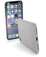 CUSTODIA PER APPLE IPHONE XR ULTRASOTTILE CELLULAR LINE ZEROIPH961T TRASP