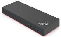 Lenovo 40AN0135US notebook dock/port replicator Wired Thunderbolt 3 Black, Red