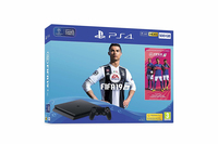 PS4 SONY CONSOLE SLIM 500GB + GIOCO FIFA 19 EU