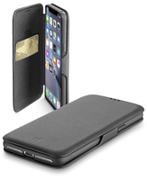 CUSTODIA PER APPLE IPHONE XR CELLULAR LINE BOOKCLUTCHIPH961K BLACK