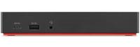 Lenovo 40AS0090US notebook dock/port replicator Wired USB 3.2 Gen 1 (3.1 Gen 1) Type-C Black
