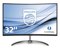 MONITOR Philips E Line 328E8QJAB575 monitor piatto per PC 80 cm 31.5 Full HD LED Curvo Nero
