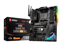 MOTHERBOARD AM4 B450 GAMING PRO CARBON MAX WIFI MSI