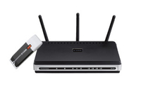D-Link DKT-410 Fast Ethernet Nero, Argento router wireless