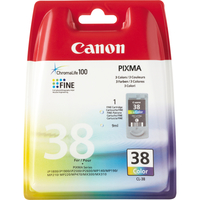 Canon CL-38 Ink Cartridge Ciano, Giallo cartuccia d