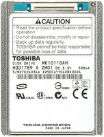 Toshiba 100GB Parallel ATA 100GB Paralello ATA disco rigido interno