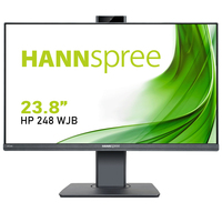 MONITOR LED 23.8 HP248WJB HANNSPREE IPS HDMI/VGA/DP MULTIMEDIALE WEBCAM