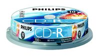 Philips CR7D5NP10/17 CD-R 700MB 10pezzo(i) CD vergine