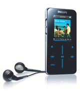 Philips GoGear SA9100/05 Lettore MP3 1GB Nero lettore e registratore MP3/MP4