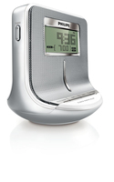 Philips AJ100/12 Orologio Digitale Argento radio