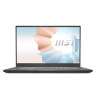 """NB MSI MODERN 15 A11M Carbon Grey 15.6"""" FHD IPS 60Hz Srgb CPU i5-1135G7 RAM 8GB SSD 512GB NVME WIN10 HOME"""
