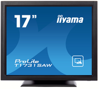 "iiyama ProLite T1731SAW-B1 17"" 1280 x 1024Pixel Single-touch Da tavolo Nero monitor touch screen"