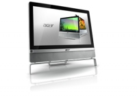 "Acer Aspire 801 24"" 1920 x 1080Pixel Touch screen Nero, Argento"