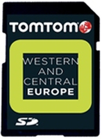 TomTom Map on MicroSD card Western and Central Europe IQ routes v8.70