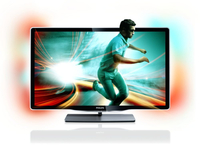 "Philips 8000 series 46PFL8606T/12 46"" Full HD Compatibilità 3D Smart TV Wi-Fi Nero LED TV"