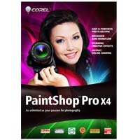 Corel PaintShop Pro X4, WIN, 1-10u, MLNG
