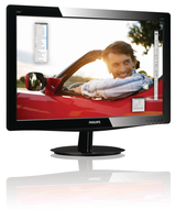 "Philips 190V3LSB8/00 19"" Lucida Nero monitor piatto per PC"