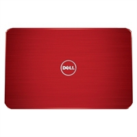 DELL 15R Fire Red Lid