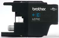 Brother Innobella LC71C Ciano cartuccia d