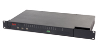 APC KVM 2G 1U Nero switch per keyboard-video-mouse (kvm)