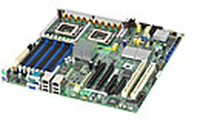Intel Server Board S5000PSLROMBR Intel 5000P LGA 771 (Socket J) SSI EEB server/workstation motherboard