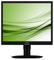 "Philips Brilliance 19S4LCB/10 19"" Nero monitor piatto per PC LED display"
