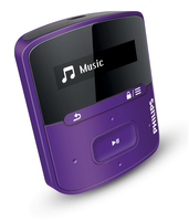 Philips GoGear SA4RGA02VN/12 Lettore MP3 2GB Viola lettore e registratore MP3/MP4
