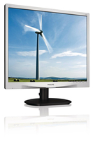"Philips Brilliance 19S4LAS/00 19"" monitor piatto per PC LED display"