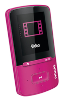 Philips GoGear SA4VBE04PN/97 Lettore MP4 4GB Rosa lettore e registratore MP3/MP4