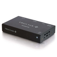 C2G TruLink HDMI+RS232 over Cat5 Box Transmitter AV transmitter Nero