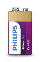 Philips Lithium Ultra Batteria 6FR61LB1A/10