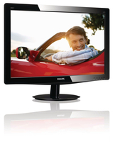 "Philips 190V3LSB5/93 19"" HD LCD/TFT Nero monitor piatto per PC LED display"