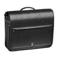 "Lenovo Targus Leather Messenger 15.4"" Borsa da corriere Nero"