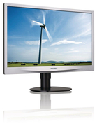 "Philips Brilliance 220S4LCS/00 22"" HD LCD/TFT Nero, Argento monitor piatto per PC LED display"