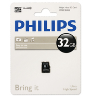 Philips Schede Micro SD FM32MD45B/10