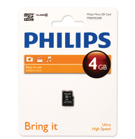 Philips Schede Micro SD FM04MD45B/10