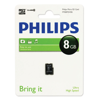 Philips Schede Micro SD FM08MD45B/10
