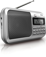 Philips AE4800/05 Portatile Digitale Grigio radio