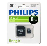 Philips Schede Micro SD FM08MA35B/10