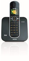 Philips Perfect sound CD6501B/38 Telefono DECT Identificatore di chiamata Nero telefono