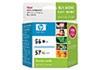 HP 56/57 Combo-pack Inkjet Print Cartridges cartuccia d