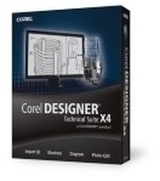 Corel Designer Technical Suite X4, Win, CROM, Upg, DE