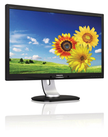 "Philips Brilliance 231P4QPYEB/69 23"" Full HD IPS Nero, Argento monitor piatto per PC LED display"