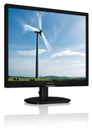 "Philips Brilliance 19S4LAB/10 19"" Nero monitor piatto per PC"